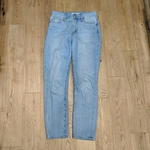 Madewell Light Blue Vintage High Rise Jean 25